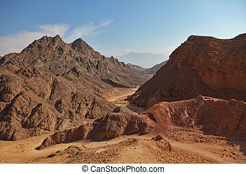 Ancient mountains in Eilat - Ancient mountains in vicinities...