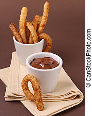 chocolate,  churros