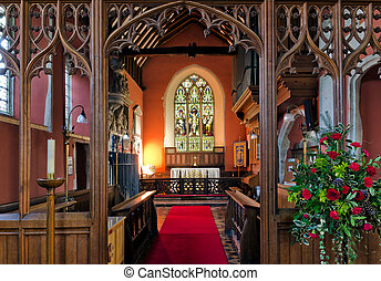 Chancel View - The Chancel view