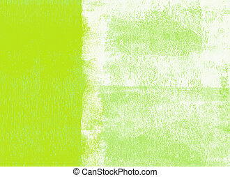 Rolled paint background - Green rolled paint background
