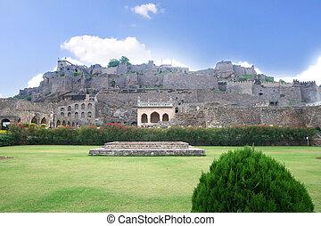 Golkonda  - 400 year old historic Golkonda fort in India