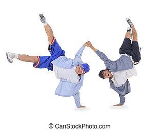 ação,  breakdance, adolescente, Dançar
