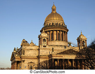 Isaakievsky cathedral - Russia. St.-Petersburg. Isaakievsky...