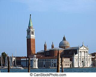 Venice - basilica of San Giorgio Maggiore. San Giorgio...
