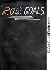 2012 new year goals