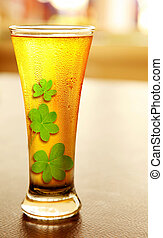 Cold lucky beer - Cold beer for stPatricks day holiday...