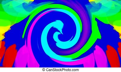 swirl streak and ribbon,abstract