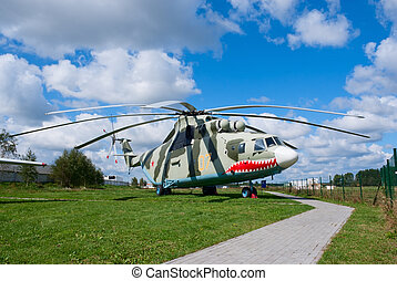 "Mi-26 helicopter - Mil Mi-26 ""Halo"" heavy transport..."