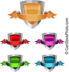 3D Blank Award Shields