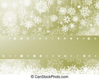 Elegant christmas background with snowflake. EPS 8 - Elegant...