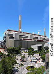 Coal fired electric power plant
