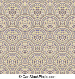 vector seamless eastern style  background