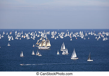 Barcelona 2010, The Trieste regatta - Italy
