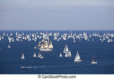 Barcelona 2010, The Trieste regatta  - Italy