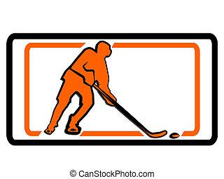 hockey logo sign