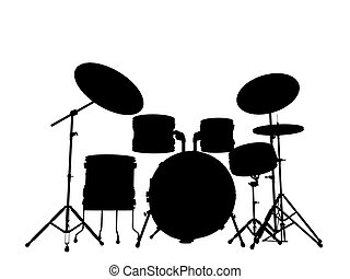 drummer outline silhouette outline - drummer outline...