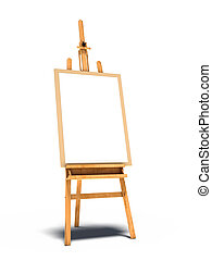easel stand with picture