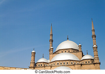 egypt, cairo mohammed ali mosque alabsater mosque the...