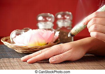 Professional moxa sticks - TCM Traditional Chinese Medicine....