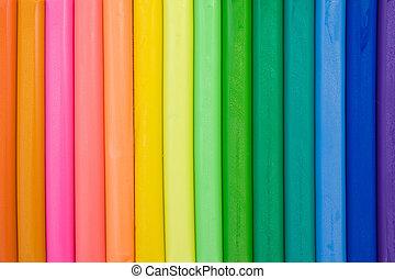 colorido, Plasticine, Plano de fondo