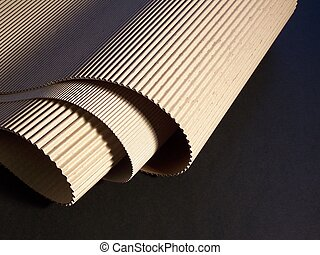 fluting - Corrugated board