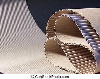 fluting - Corrugated board
