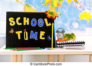 School time conceptual image of education knowledge