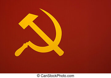 "Soviet Flag - Murky version of the Soviet flag ""The hammer..."