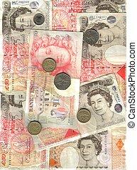 english money background