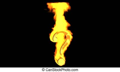 fire Question mark.