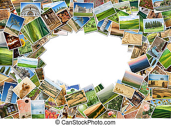 A lot of photos - Many different images of Tuscany