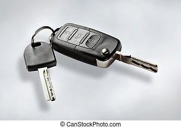 Key with remote control - Key to the wireless transmission...