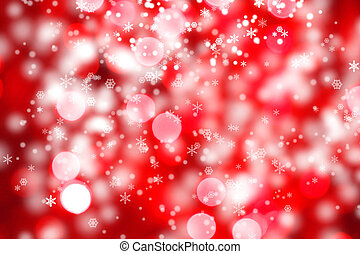 Abstract background of christmas lights - Abstract...