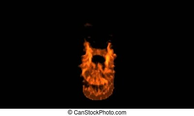 fire alphabet g.