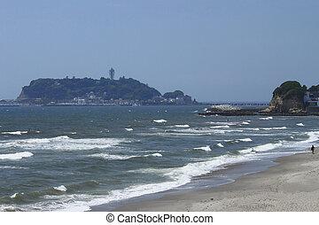 Seaside resort in Kamakura,Kanagawa