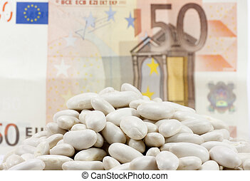 beans and money
