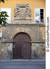 Portal of an historical building