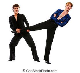 salón de baile, macho, bailarín, tenencia,...