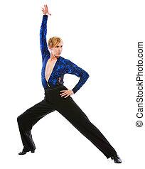 salón de baile, macho, bailarín,...