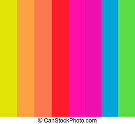 Fluorescent Stripes Pattern - 8 Fluorescent Stripes in a...