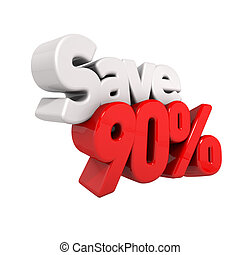 ninety Percent Price Reduction And Save