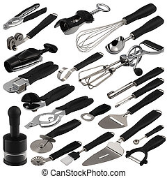 kitchen tools - one complete set of various kitchen tools...