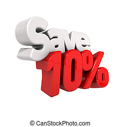 Ten Percent Price Reduction And Save