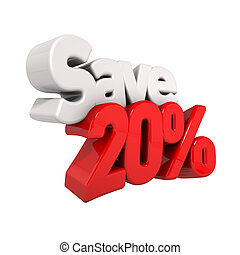 twenty Percent Price Reduction And Save