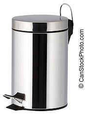 bathroom trash bin - One trash bin for the bathroom with...