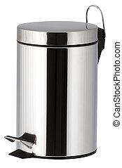 bathroom trash bin - One trash bin for the bathroom with...