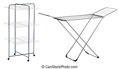 drying rack - one set of two drying racks in different shape