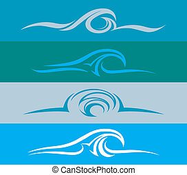 Wave Design Evolution - Four different interpretations of a...
