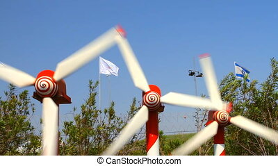 Windmills - Power Generating Windmills