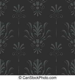 Seamless Damask Pattern - This is a vector damask pattern in...